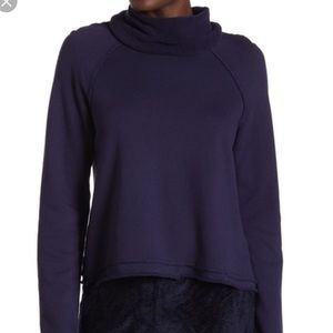 Michael Stars reversible raglan turtleneck sweater